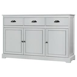 3 Drawers Sideboard Buffet Cabinet Console Table Kitchen Sto