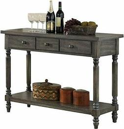 acme Wallace Server, Weathered Gray Transitional/Weathered G