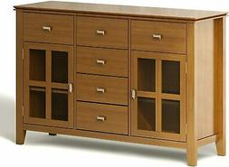 Artisan 54 inch Wide Sideboard Buffet Credenza in Honey Brow