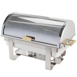 8 Qt. Deluxe Roll Top Chafer