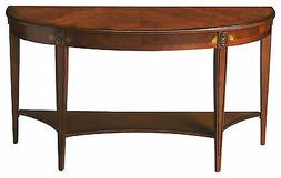 DOWNTON MANOR INLAID CONSOLE TABLE - SIDEBOARD - OLIVE ASH B