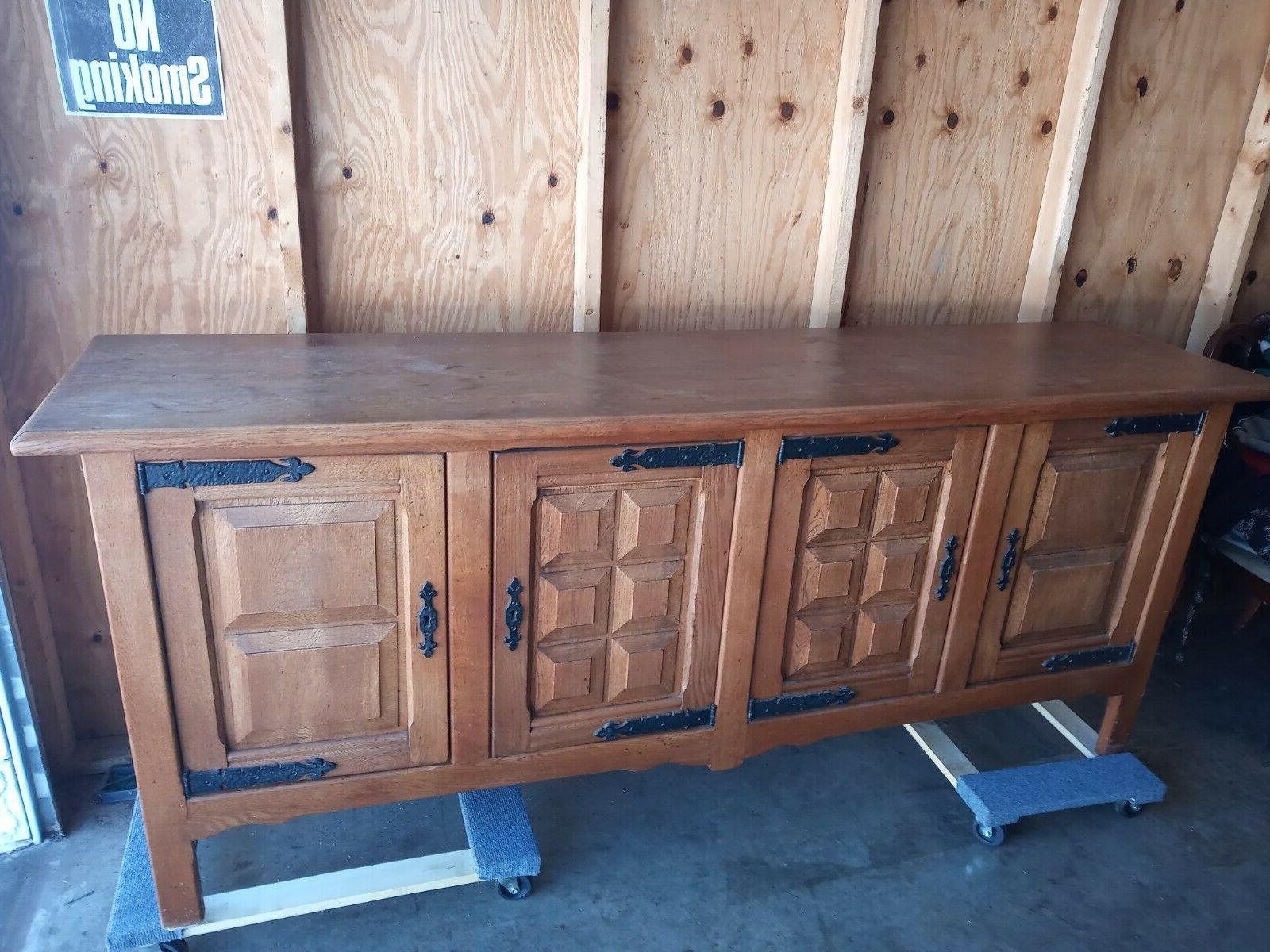 sideboard and storage cabinet