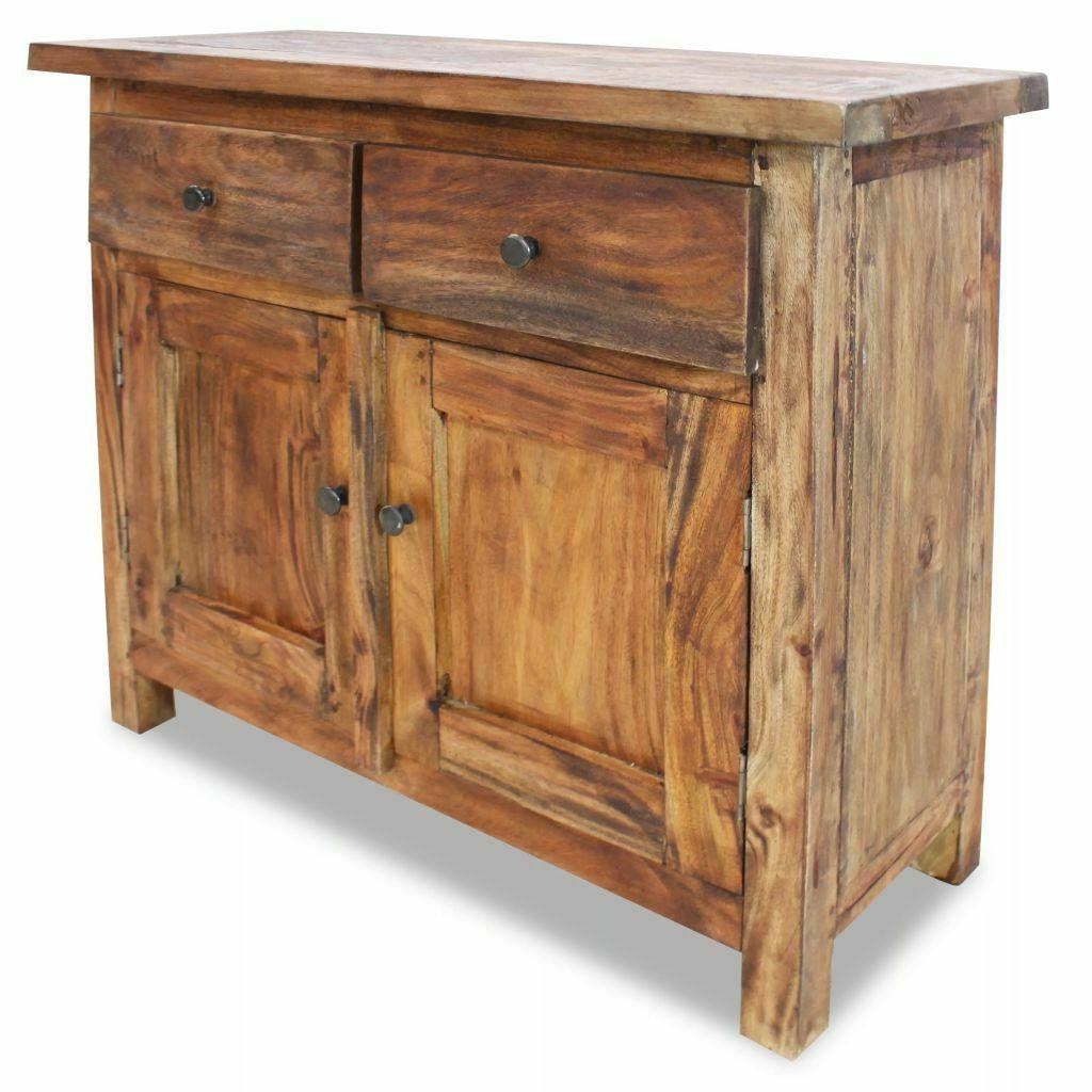 sideboard cupboard solid reclaimed wood with 1