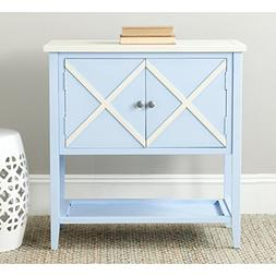 Polly Sideboard - Finish: Light Blue / White