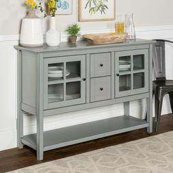 Sideboard Buffet Table China Cabinet Credenza Storage Cabine