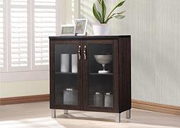 Wholesale Interiors Sintra Sideboard Storage Cabinet with Gl