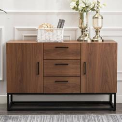 Buffet Sideboard Storage Cabinet Server Table Wood Console K