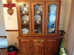 Table 8 Chairs China Cabinet Plus A Buffet