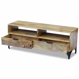 TV Stand Home Entertainment Furniture Media Console with 2 D