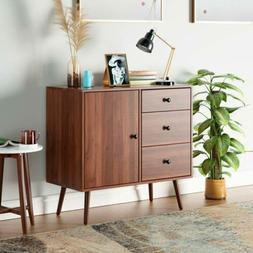 Wide Dresser Sideboard Cabinet Console Table w/ 3 Drawers 1